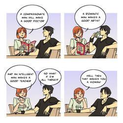 comic strip: aptitude by archvermin