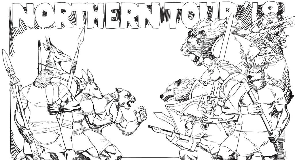 Northern Tour 2018 by archvermin