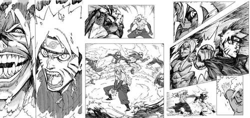 Naruto vs Sasuke: preview by archvermin