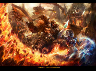 Siege of Orgrimmar by mad-jill