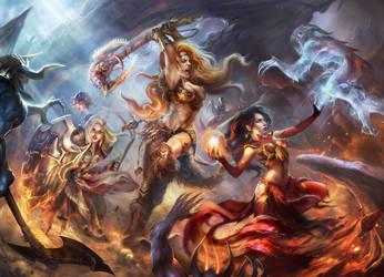 Diablo 3 contest by mad-jill