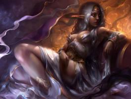 Queen Azshara by mad-jill
