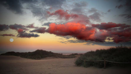 Gran Canaria - Twilight Beach by Nippey