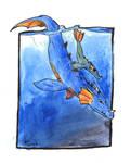 sea monster mother by poseidonsimons