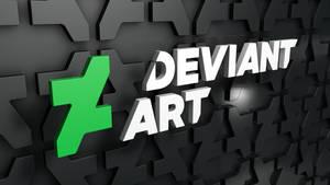 The New DeviantArt Logo 3D by Dracu-Teufel666