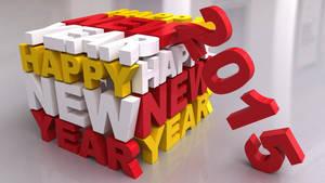 Happy New Year - 2015 by Dracu-Teufel666