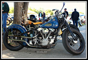 Knucklehead Bobber by StallionDesigns