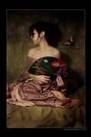 Geisha Fan I by kedralynn