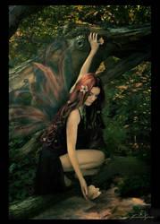 Woodland Fae -Color- by kedralynn