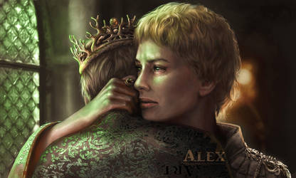 Cersei Lannister (Game of Thrones) by Astartte