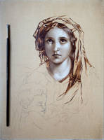 Virgin and Child - after Paul Delaroche (WIP2) by Astartte