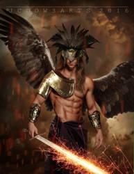 Archangel by Jcdow3Arts