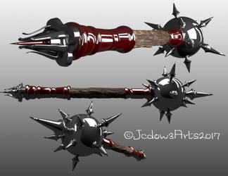 3D weapons by Jcdow3Arts