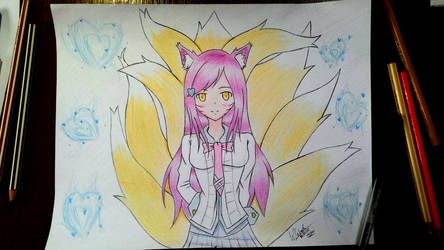 Academy Ahri by well9087
