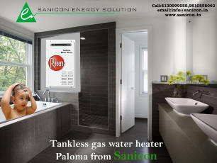 Tankless-gas-water-heater-paloma-from-sanicon by SaniconEnergy