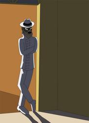 Man in the Mirror by Border-Walker