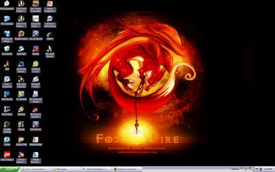 Latest Desktop - FoxFire by Border-Walker