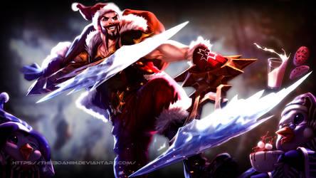 Santa-Draven (Wallpaper HD) by The13Daniih