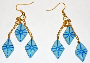 Rarity Earrings by MadPonyScientist