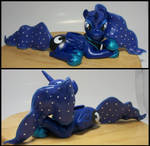 15 inch Princess Luna  GENUINE SWAROVSKI CRYSTALS by MadPonyScientist