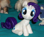 Rarity Filly custom  a REAL head turner..LITERALLY by MadPonyScientist