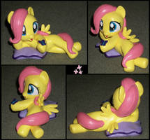 Filly Fluttershy Pillow Pony by MadPonyScientist