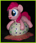 Filly Pinkie Pie Pillow Pony sculpture by MadPonyScientist