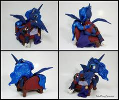 Princess Luna custom sculpture commission 2 by MadPonyScientist