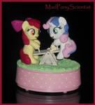 Apple Bloom N Sweetie Belle Musical Teeter Totter  by MadPonyScientist
