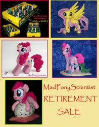 MadPonyScientist RETIREMENT SALE lower prices! by MadPonyScientist