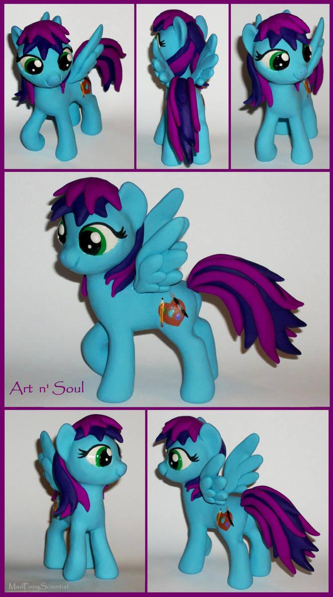 Art n' Soul  pony commission 2 by MadPonyScientist