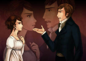 Mr Darcy y Elizabeth by palnk