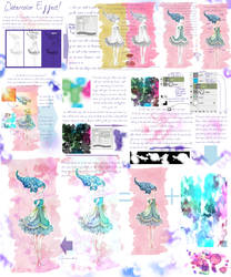 Watercolor Effect Tutorial by palnk
