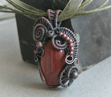 Caramel Metal Pendant by Bodza
