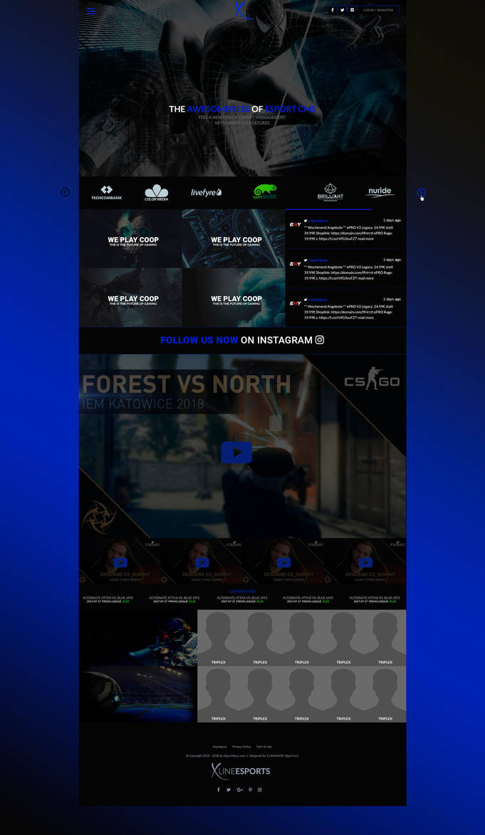 XTrouble eSport Gaming Design (sale) by KR-Designs2015