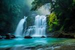 Aria Maleki | Natural view of Waterfall by Aria-Maleki