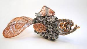 Wire Goldfish by bugsandbears