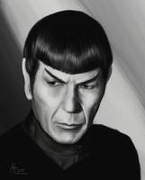 Spock by bugsandbears