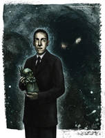 Lovecraft by MartinSchlierkamp