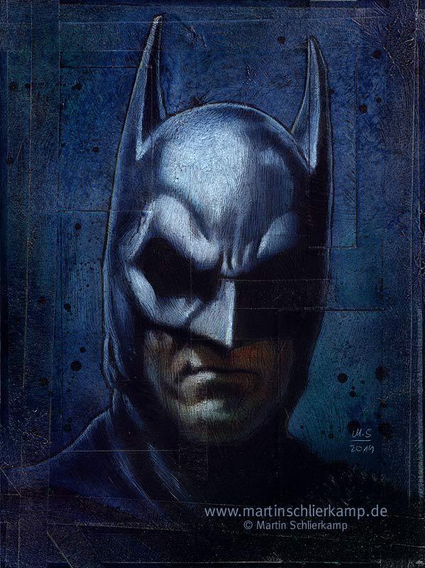 Batman by MartinSchlierkamp