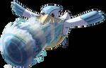 Pelipper Hydro Pump by Yggdrassal