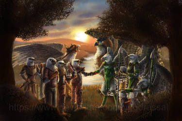 A New Alliance by Yggdrassal