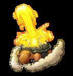 Torkoal Lava Plume by Yggdrassal