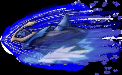 Empoleon Aqua Jet by Yggdrassal