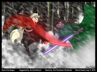 Dual of the Mages by DarthKeidran