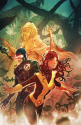 Kitty Pryde and the Gang by botrocket
