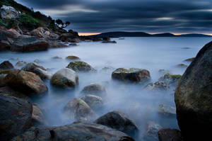 On The Rocks Before Dawn. by no-soap-was-harmed