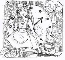 Alice in wonderland by SabriMari