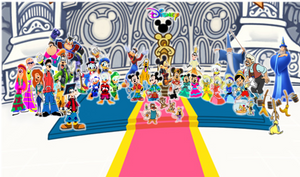 Disney Castle Kingdom Hearts Family and Friends II by 9029561