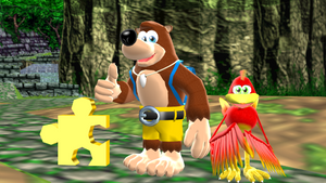 Banjo and Kazooie MMD (Jiggy) by 9029561